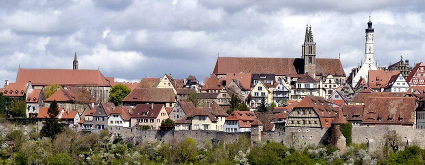 Ausflug ins Mittelalter - Besuch in Rothenburg odT