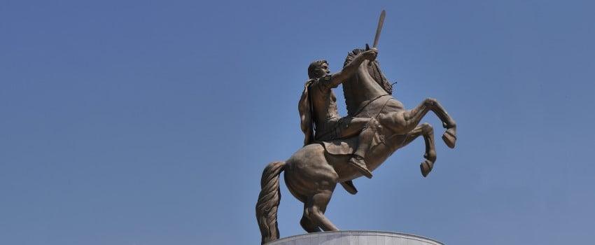 Mazedonien - Alexander der Große lässt grüßen