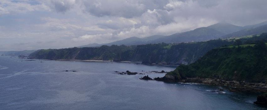 Entlang der asturischen Küste
