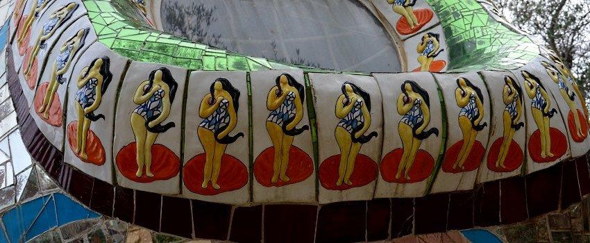 Der Tarot-Garten von Niki de Saint Phalle